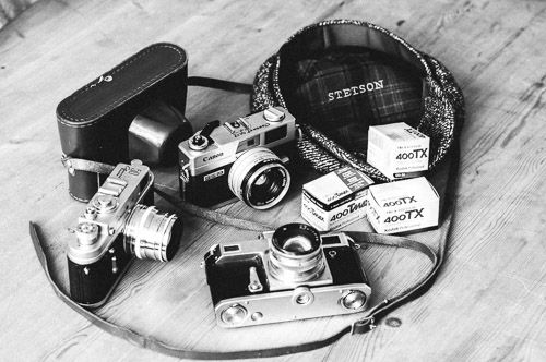 Develop black and white film